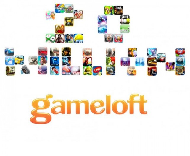 Gameloft Tops 20 Million Paid iOS App Downloads