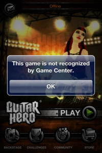 Activision Hits All The Wrong Notes With Guitar Hero's Game Center Update