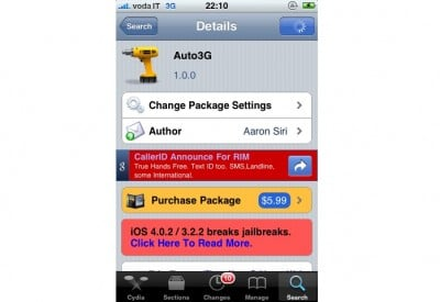 Jailbreak Only: Auto3G - Save Battery Life On Your iPhone
