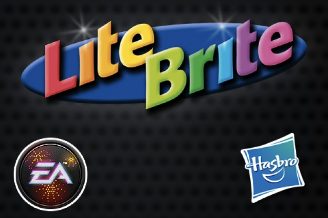 Light Up Your Creativity With EA's Lite-Brite