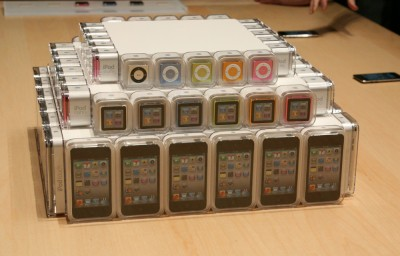 Hands-On With The New iPod Touch, iPod Nano And iPod Shuffle