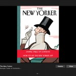 The New Yorker Magazine Arrives For iPad