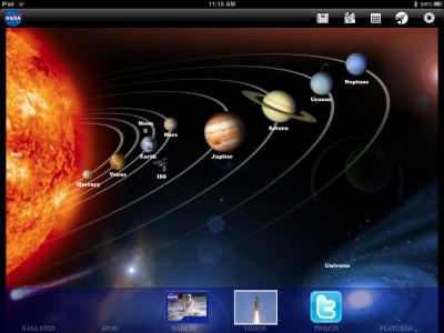 NASA App HD Arrives For iPad