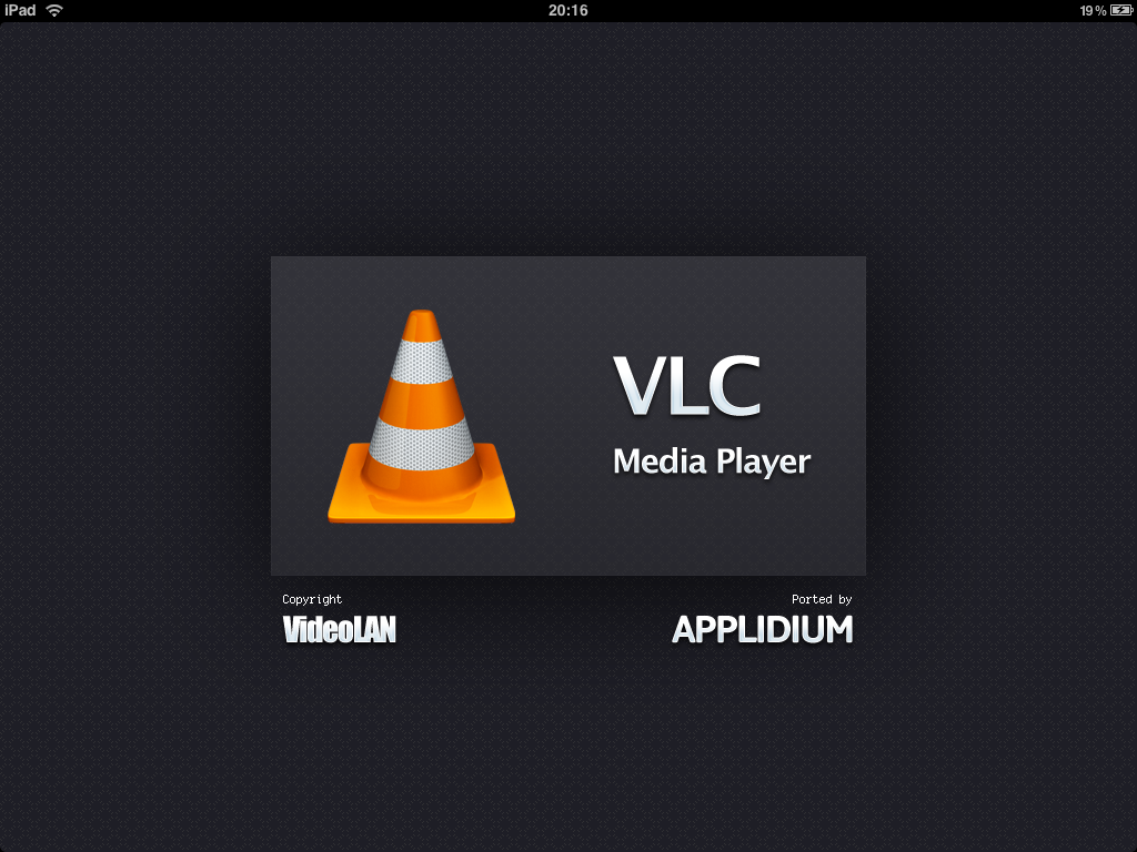 First Look At VLC For iPad