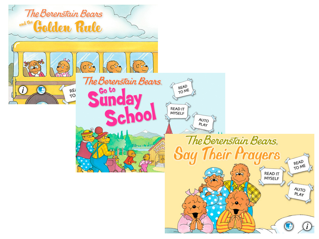 Oceanhouse Media Brings The Berenstain Bears To The App Store With Three Interactive eBooks