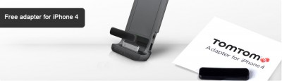 TomTom Offers Free iPhone 4 Adapters To Current And Future Car Kit Owners