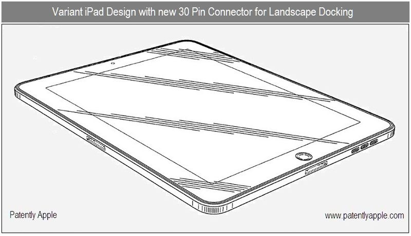 New iPad Patent Reveals Side-Docking - FaceTime & More
