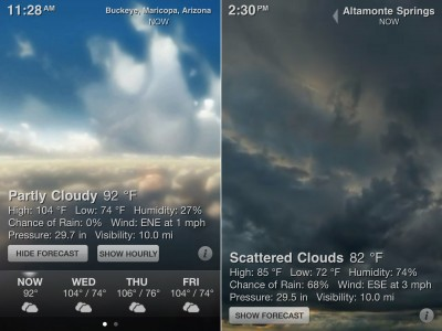 Weather HD, The Best-Selling Weather App For iPad, Goes Universal