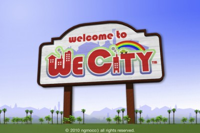 """Ngmoco Brings Another """"We"""" Game To The Mix - We City For iPad, iPhone, And iPod Touch"""