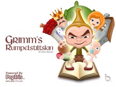 Review: Grimm's Rumpelstiltskin - 3D Interactive Pop-Up Book