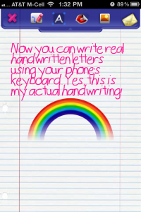 QuickAdvice: Create Your Own Handwritten Font With MyFont - Plus Win A Promo Code!