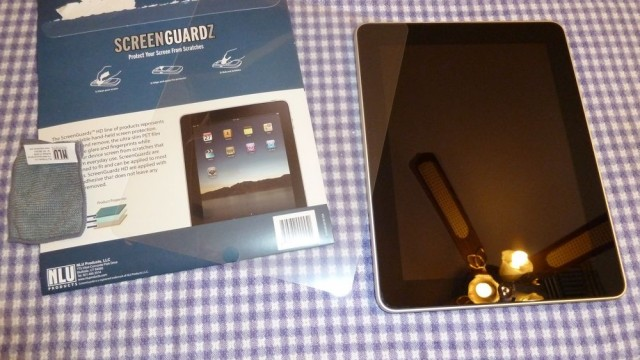 Review: Screen Guardz HD - Screen Protector For iPad