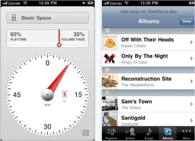 ZonkOut Sleep Timer: Easily Fall Asleep To Music