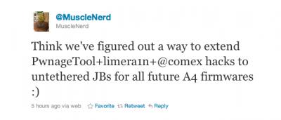 MuscleNerd: All Future A4 Firmware Versions Will Enjoy Untethered Jailbreak!