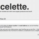 Facelette: FaceTime Calling With A Chatroulette Twist