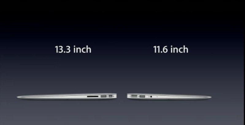 Jobs: Two New MacBook Air Models Starting at $999