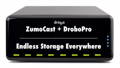 ZumoCast + DroboPro = Endless Storage Everywhere