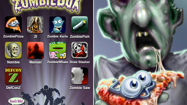 All-In-1 ZombieBox Provides Guts, Gore, Brains, And More With 10 Zombie Apps For Only $.99