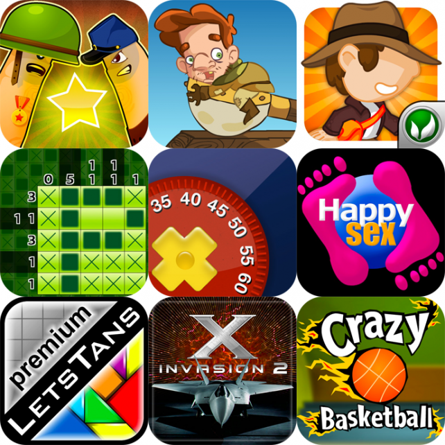iPhone And iPad Apps Gone Free: Finger Physics: Thumb Wars, Catapult Madness, Cave Run, And More