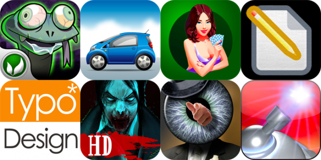 iPhone And iPad Apps Gone Free: Zombie Snake, Concierge Car Locator, Solitaire, And More