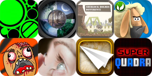 iPhone And iPad Apps Gone Free: Frict, Farm Break, Sherlock Holmes Difference, And More