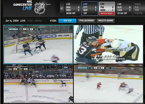 Unconfirmed: NHL Game Center Live Is Coming To The iPad, October 7th