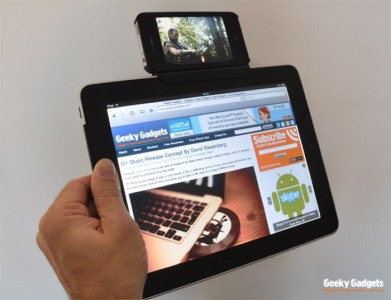 DIY: iPhone Plus iPad