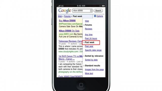 Google Search Dominates iPhone Market