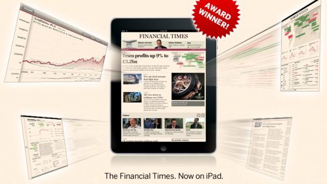 Financial Times: App Brings In $1.59 Million In Ad Revenue