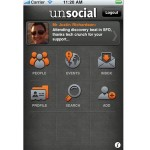 Unsocial For iPhone - Meet People You Really Should Already Know