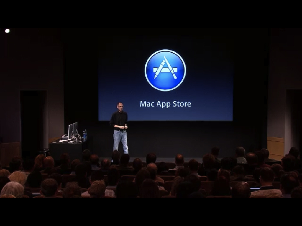 Special Event: Apple Announces The Mac App Store