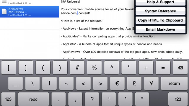 MarkdownMail Is Even More iPad And Blogger Friendly, Plus Supports Drafting Messages