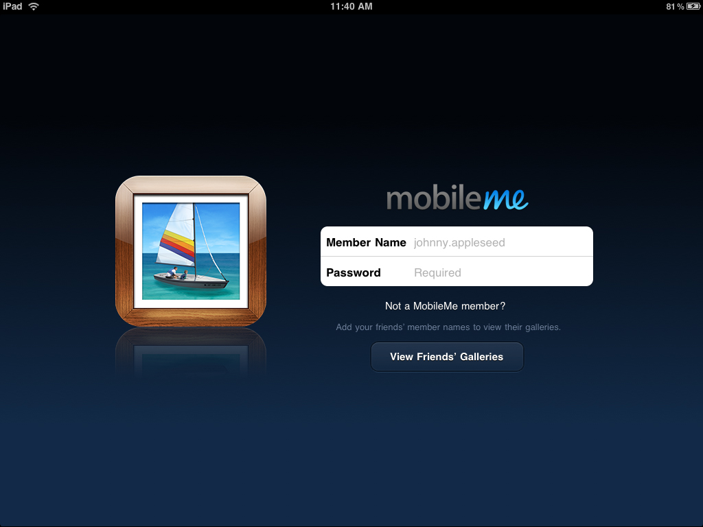 MobileMe Gallery Now Optimized For iPad, Retina Displays, And iOS 4