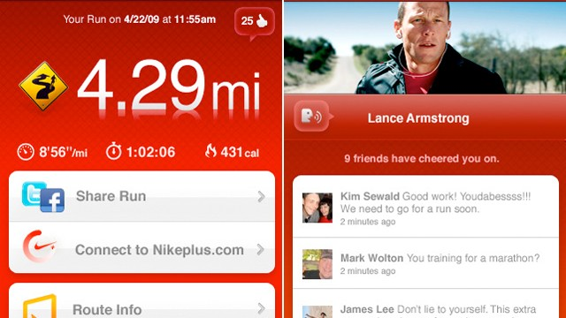 Let Your Facebook Friends Help Motivate You By Cheering You On In the Latest Nike+ GPS