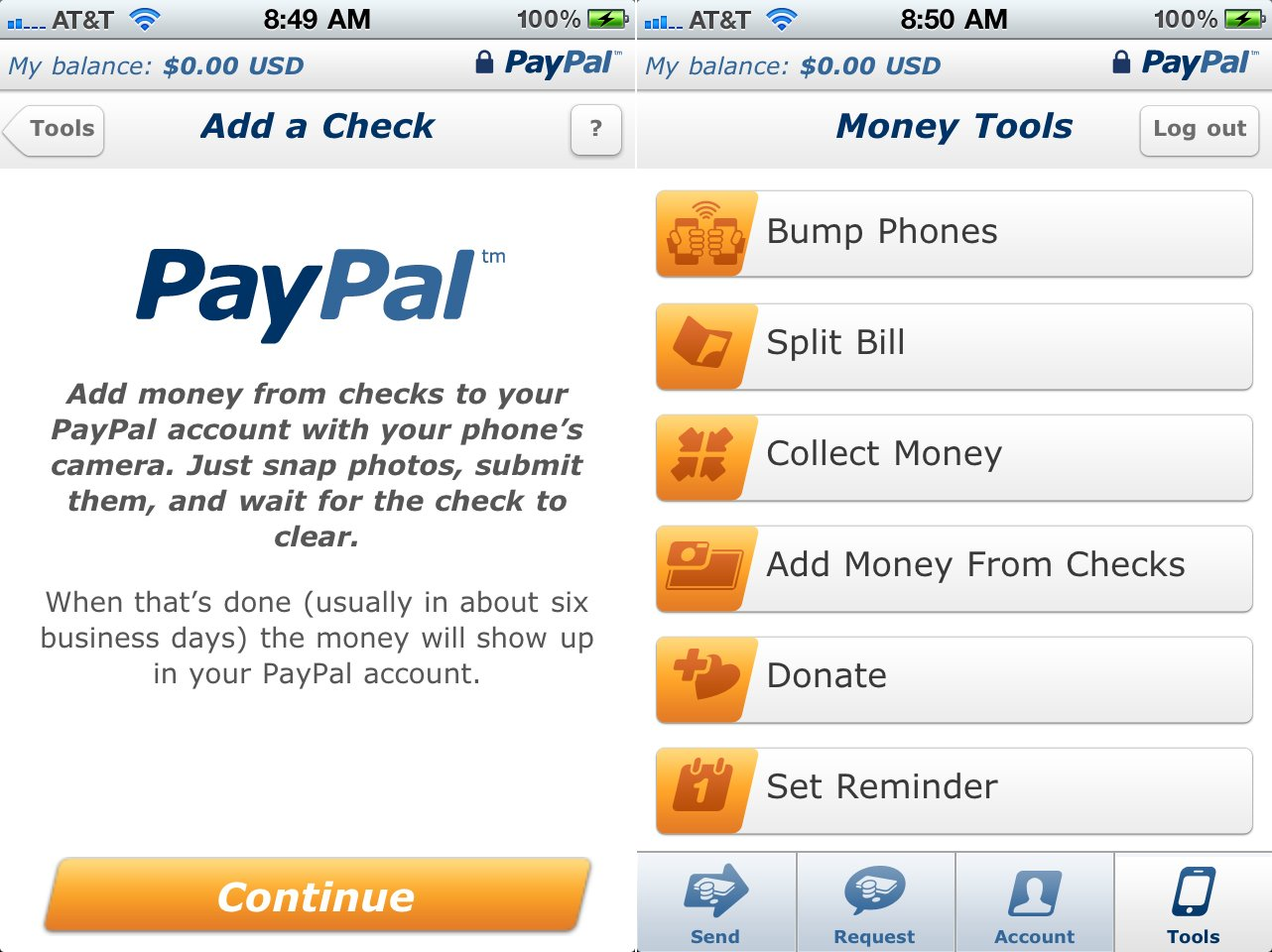 PayPal Users Can Now Deposit Checks By Simply Taking A Picture