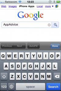 Google Mobile Gets An App Store Search Feature - Not?