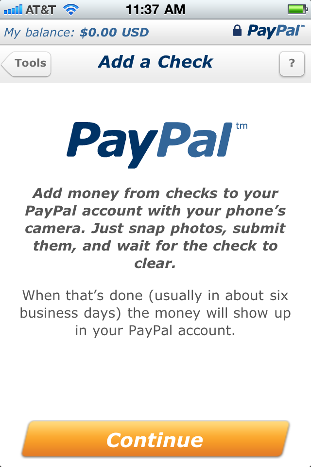 Paypal's Check Capture Service Is A Hit