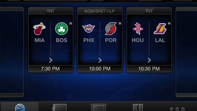 NBA League Pass Mobile Provides Games On Your iPhone