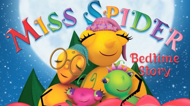Miss Spider's Bedtime Stories Joins The iPad Lineup