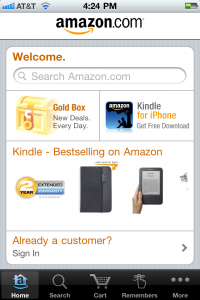 Amazon Mobile App Now Includes Barcode Reading