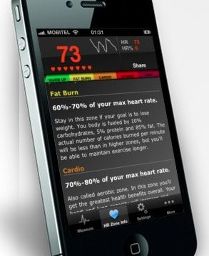 Instant Heart Rate App Can Measure Your Beat - Using Your iPhone Camera