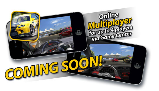Real Racing To Gain Four-Player Online Multiplayer Through Game Center