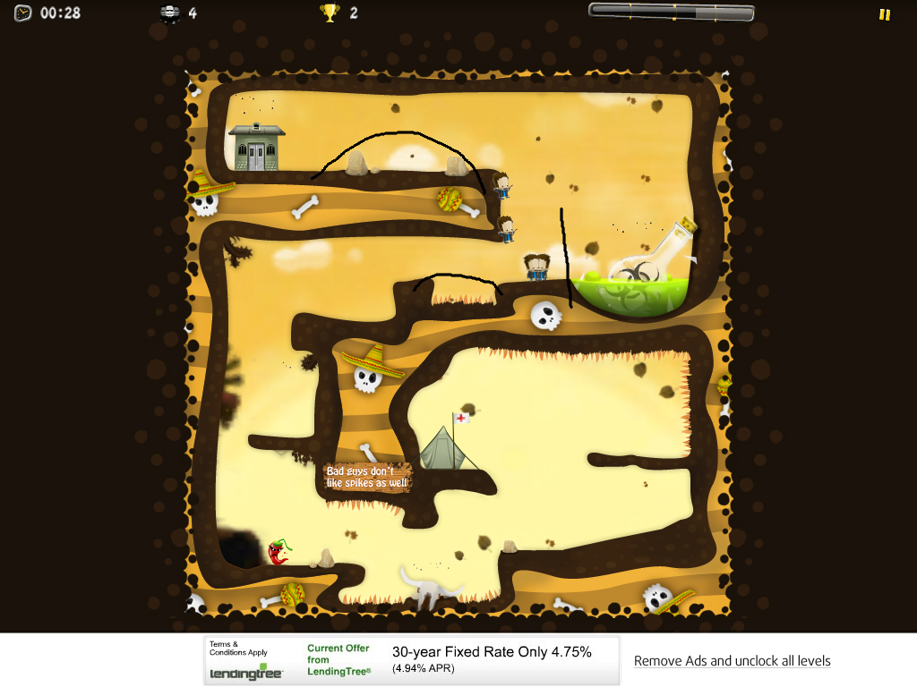 TipTop, On5's Lemmings-Style Line-Drawing Game, Arrives For iPad For Free