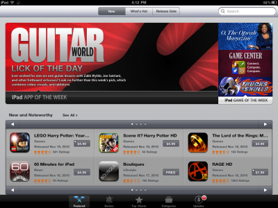 iOS 101: The App Store