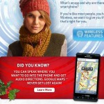 Verizon Tries To Sell A Motorola Droid X Using An iPhone App Screenshot