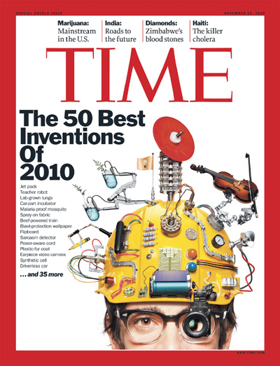 time magazine ipad one of best inventions of 2010