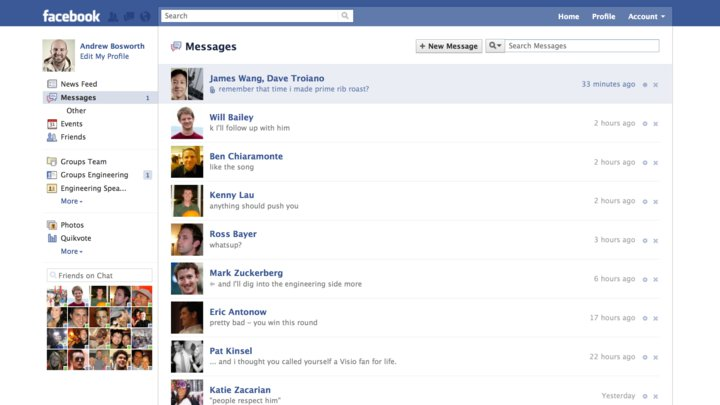 Facebook Announces A New Messaging System