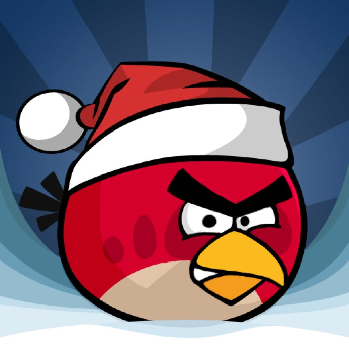 Angry Birds To Get Christmassy For The Holidays