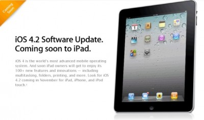 Report: Sorry But iOS 4.2 Update Is Delayed