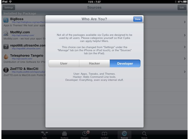 Cydia To Be Updated Soon, Will Bring Improved Support For iPad